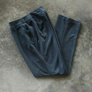 Investments Charcoal Gray Dress Pants 14 Long